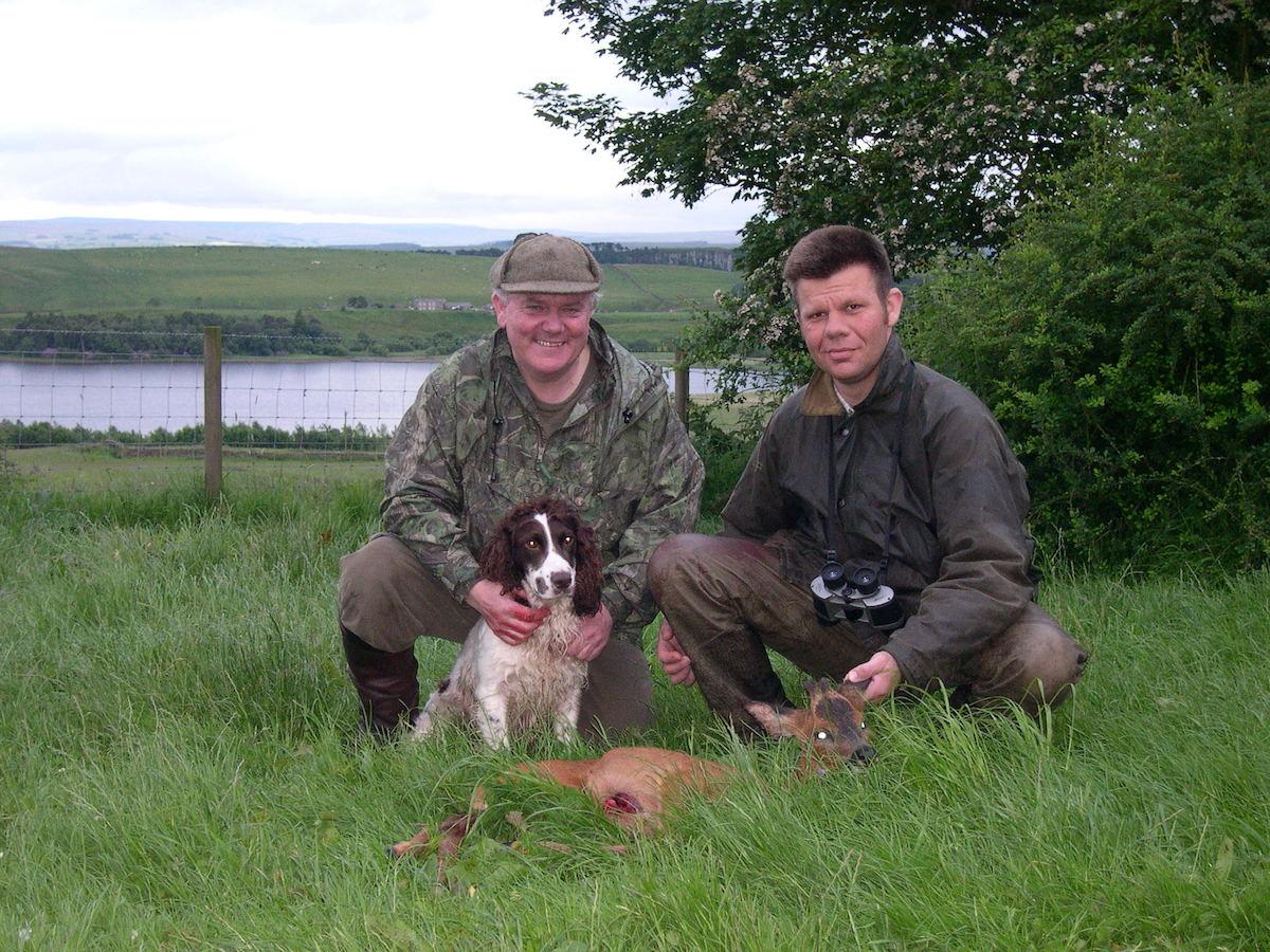 Jon, hunter & dog